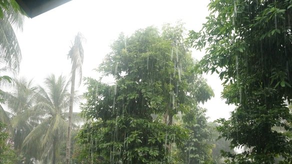 The rain in Tonsai