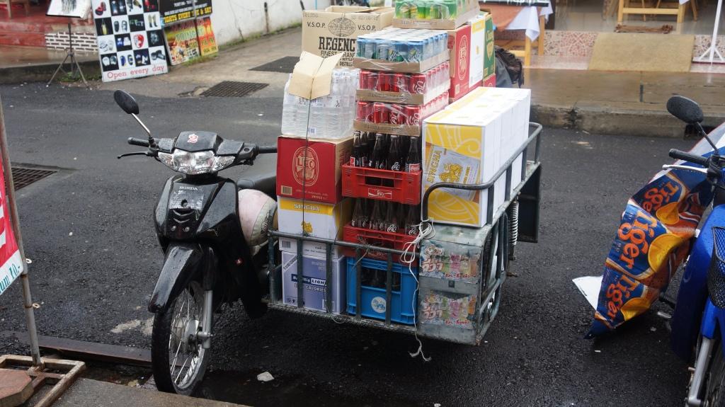 A overloaded bike?! Ha ha