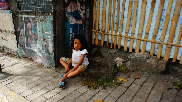 The saddest sights are the children that live here in Cebu City :-(