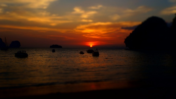 Sunset Pranang Beach